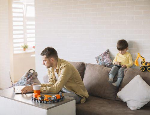 Conciliación familiar para padres que trabajan